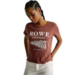 RVCA Γυναικεία κοντομάνικη μπλούζα Camille Rowe Vinters - T-Shirt For Women